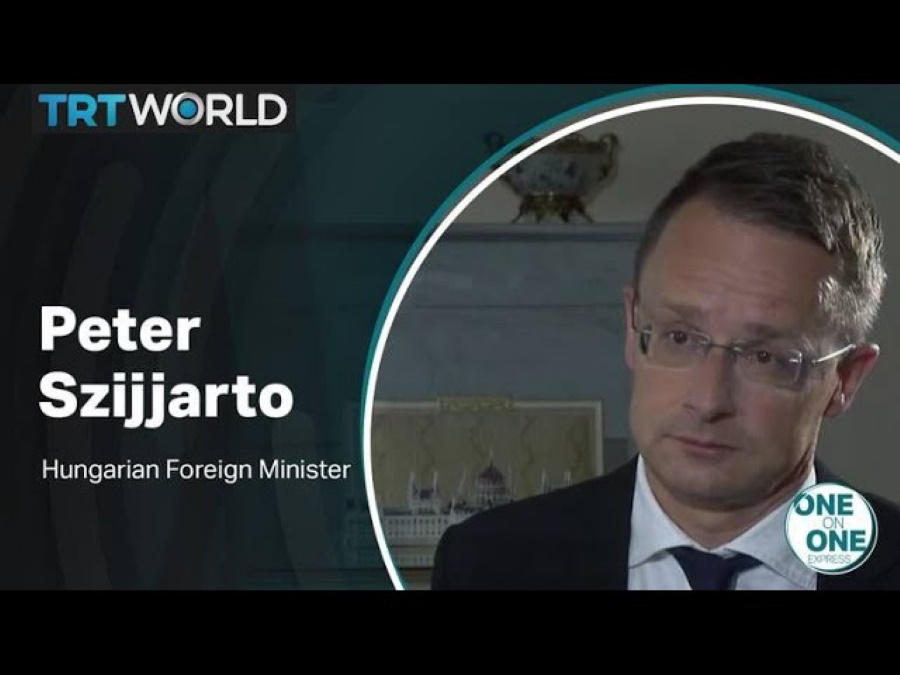 Video: One On One Interview With Hungarian FM Szijjártó About Turkey
