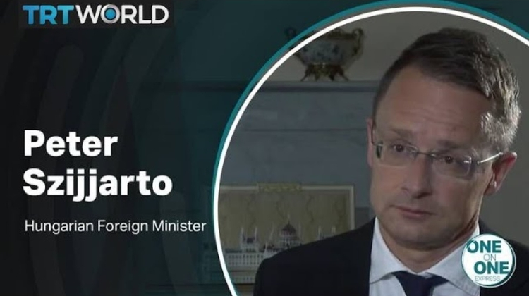 Video: One On One Interview With Hungarian FM Szijjártó