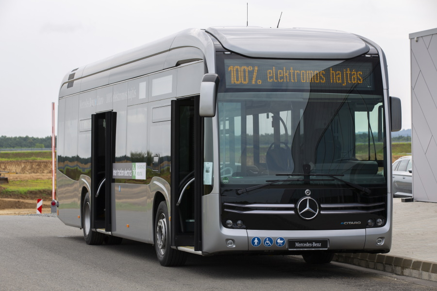 Going Greener: Hungarian Cities Switching To Electric Buses