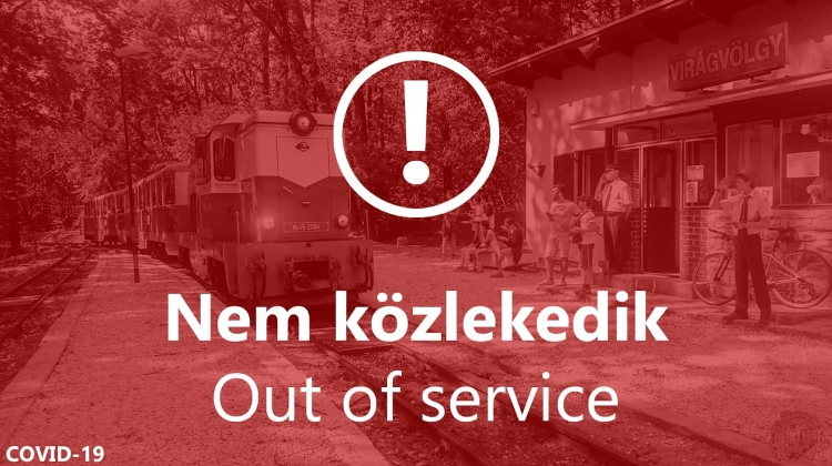 Children's Railway In Buda Hills Is Out Of Service