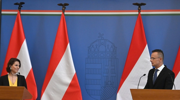 Austria Among Hungary's Most Important Allies, Says FM Szijjártó