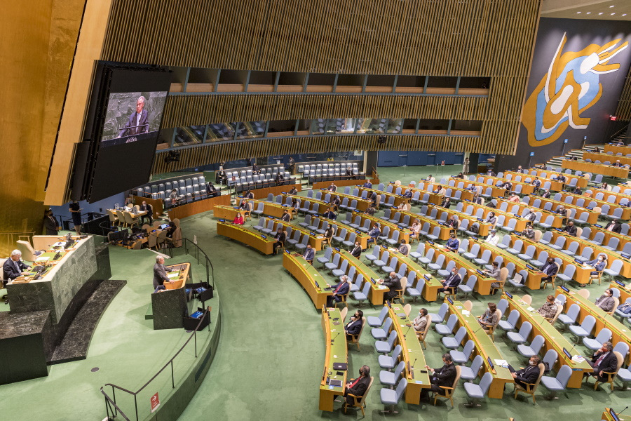 Hungarian President Áder Addresses UN General Assembly - Warns Of Future Crises