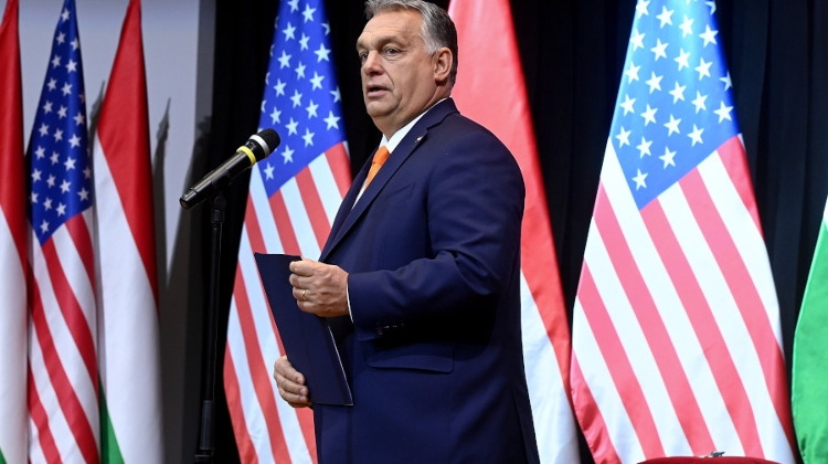 PM Orbán Hopes Trump Will Be Re-Elected, Gives High State Award To US Ambassador