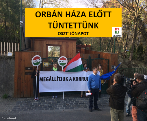 Protest Outside PM Orbán's House Was Banned Illegally