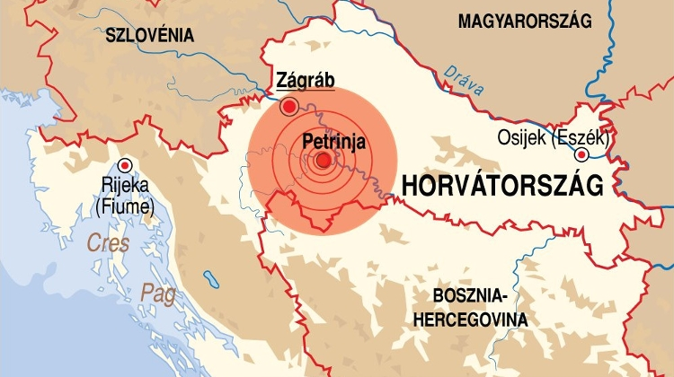 PM Orbán Offers Hungary's Assistance To Earthquake-Hit Croatia