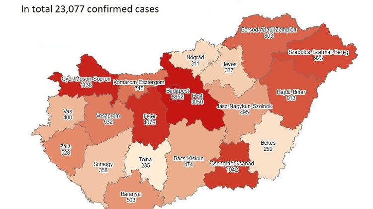 Coronavirus: Active Cases Stand At 16,464 With 12 New Deaths In Hungary