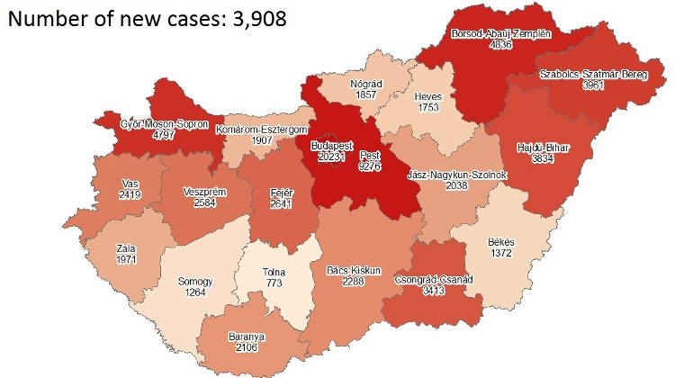 Coronavirus: Active Cases Stand At 54,539 With 51 New Deaths In Hungary