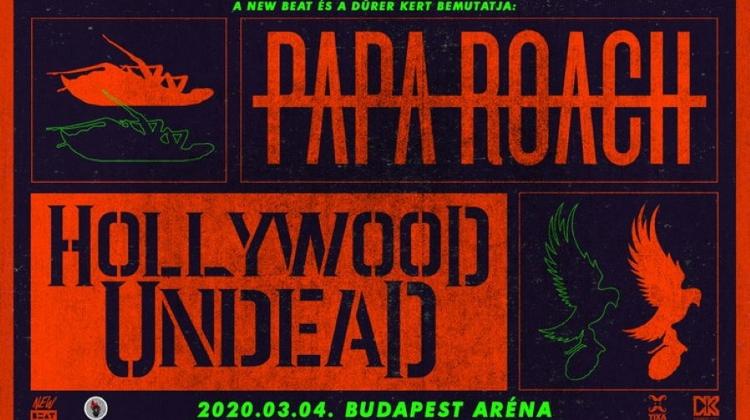 Papa Roach & Hollywood Undead @ Budapest Aréna, 4 March