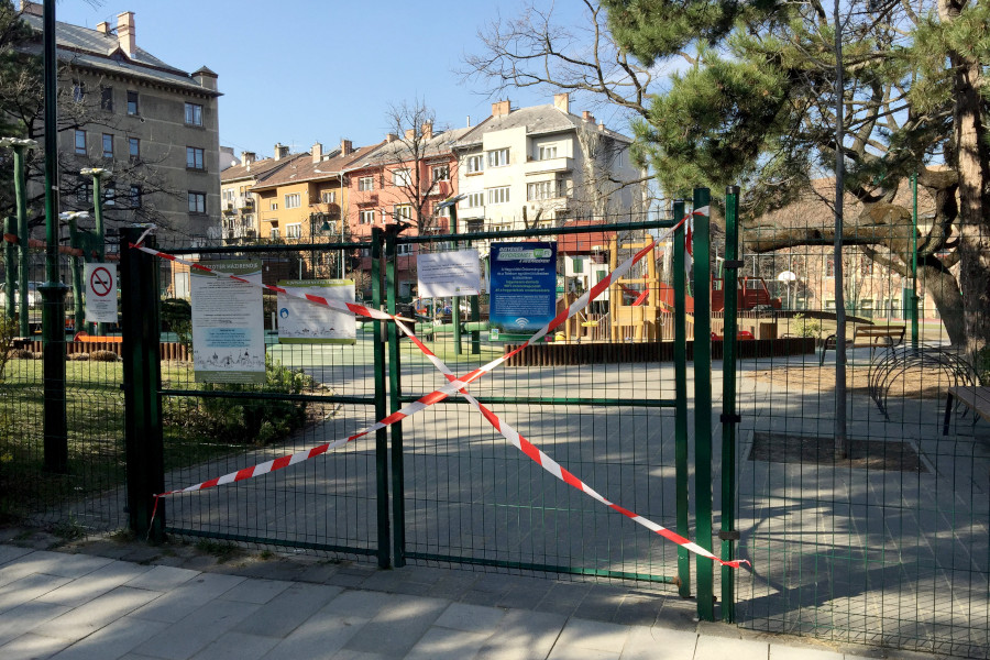 Mayor Gergely Karácsony: Playgrounds In Budapest Closed