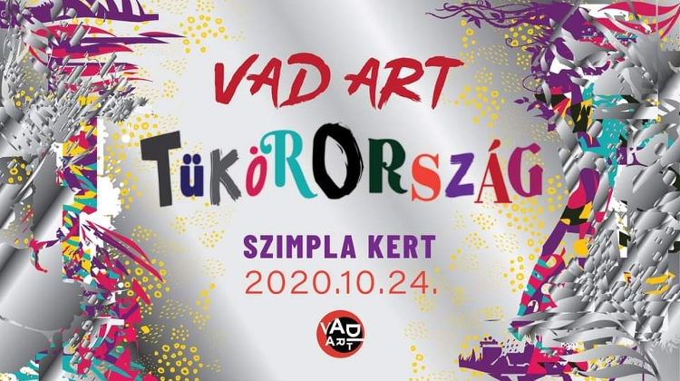 'Wild Art Mirrorland' Art Party @ Szimpla Kert Budapest, 24 October