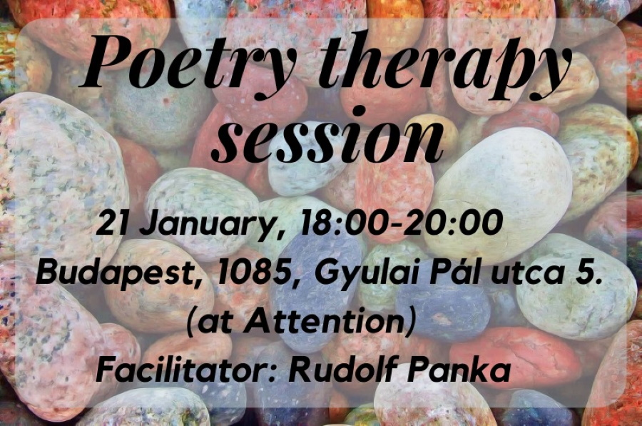 Tonight: Poetry Therapy Session In English @ Attention