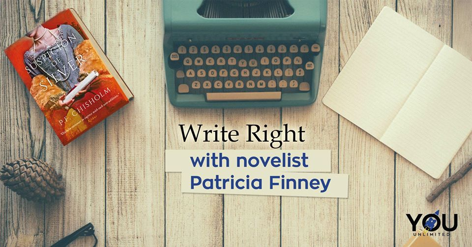 Write Right With Novelist Patricia Finney