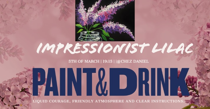 Paint and Drink: Lilac