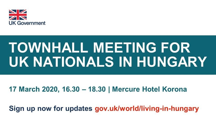 Postponed For June: Town Hall Meeting For UK Nationals In Budapest