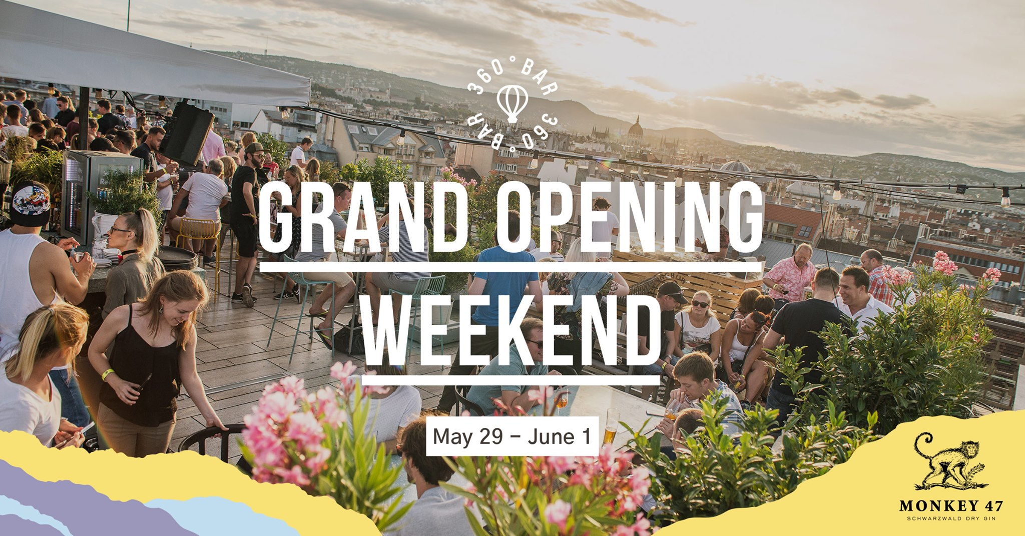 360 Bar Presents: Grand Opening, Until 1 June