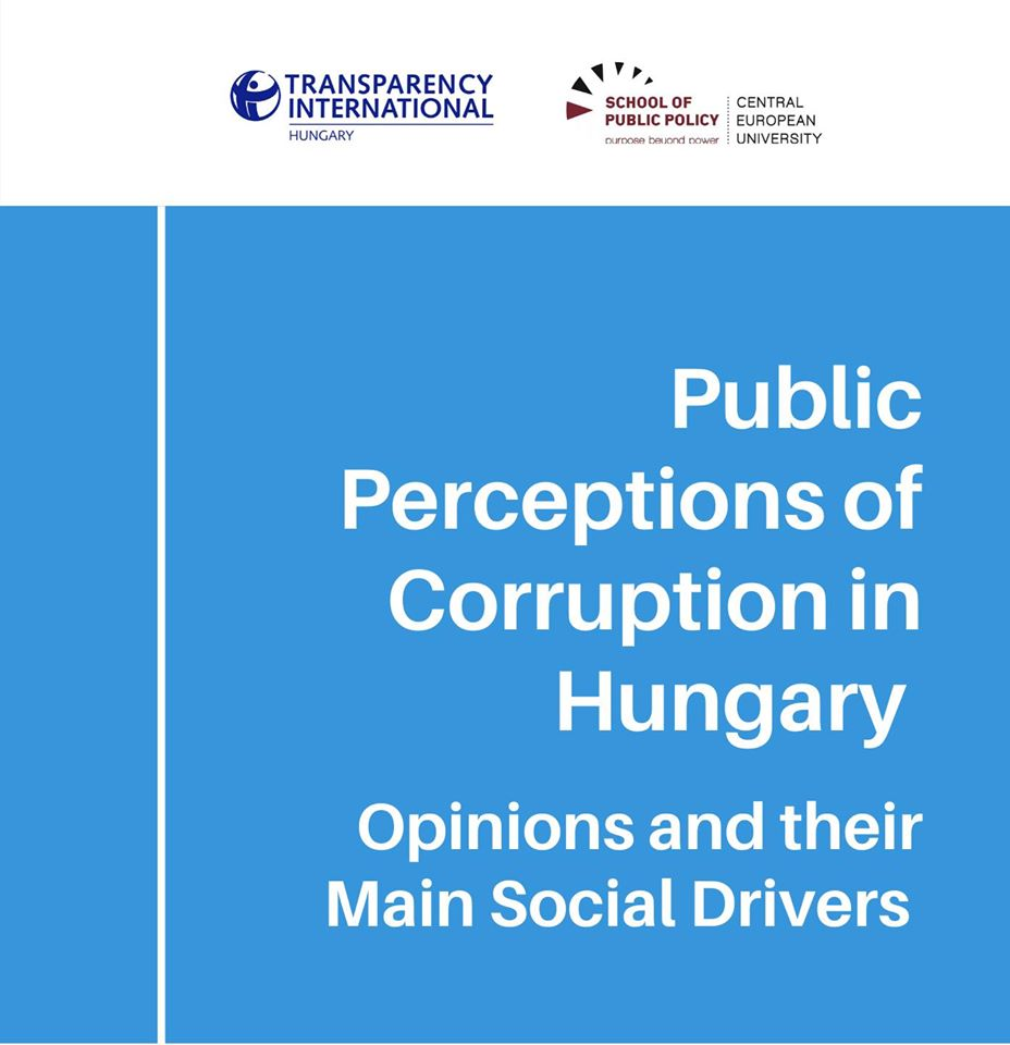 Public Perceptions of Corruption in Hungary - Webinar