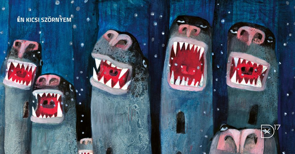 'My Little Beast': Children's Book Illustration Exhibition @ Deák 17 Gallery Budapest