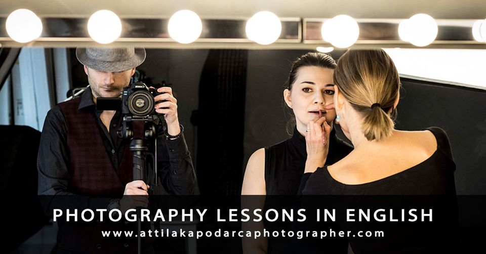 Photography Lessons In English + Theory & Workshop