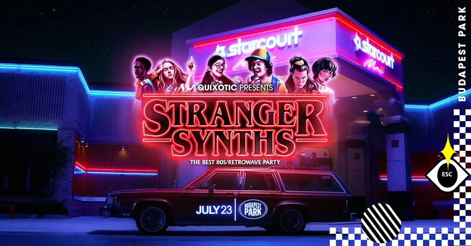 Stranger Synths: Upside Down Party @ Budapest Park