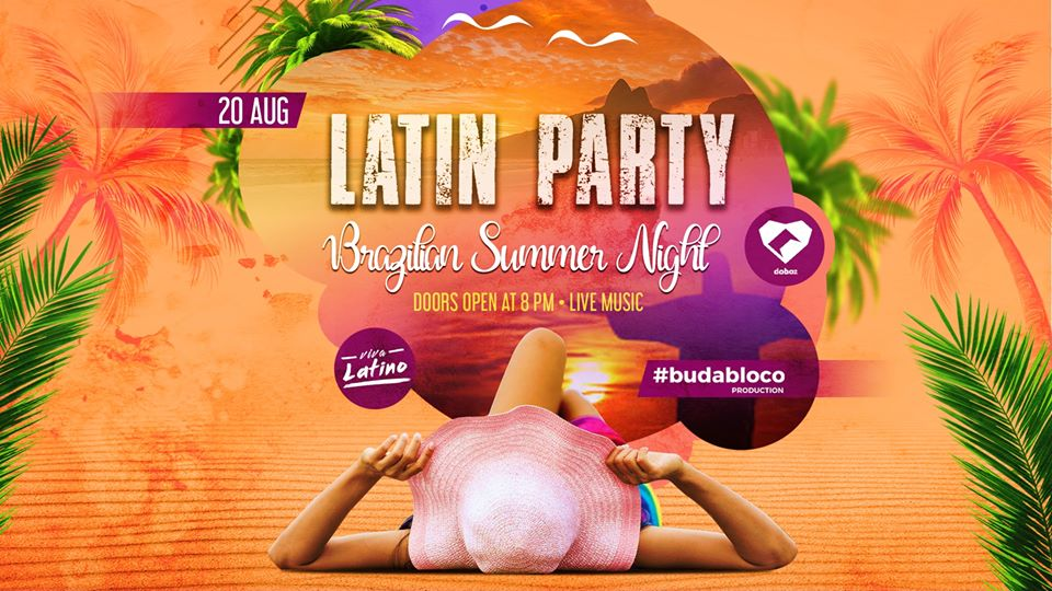 Latin Party: Brazilian Summer Night