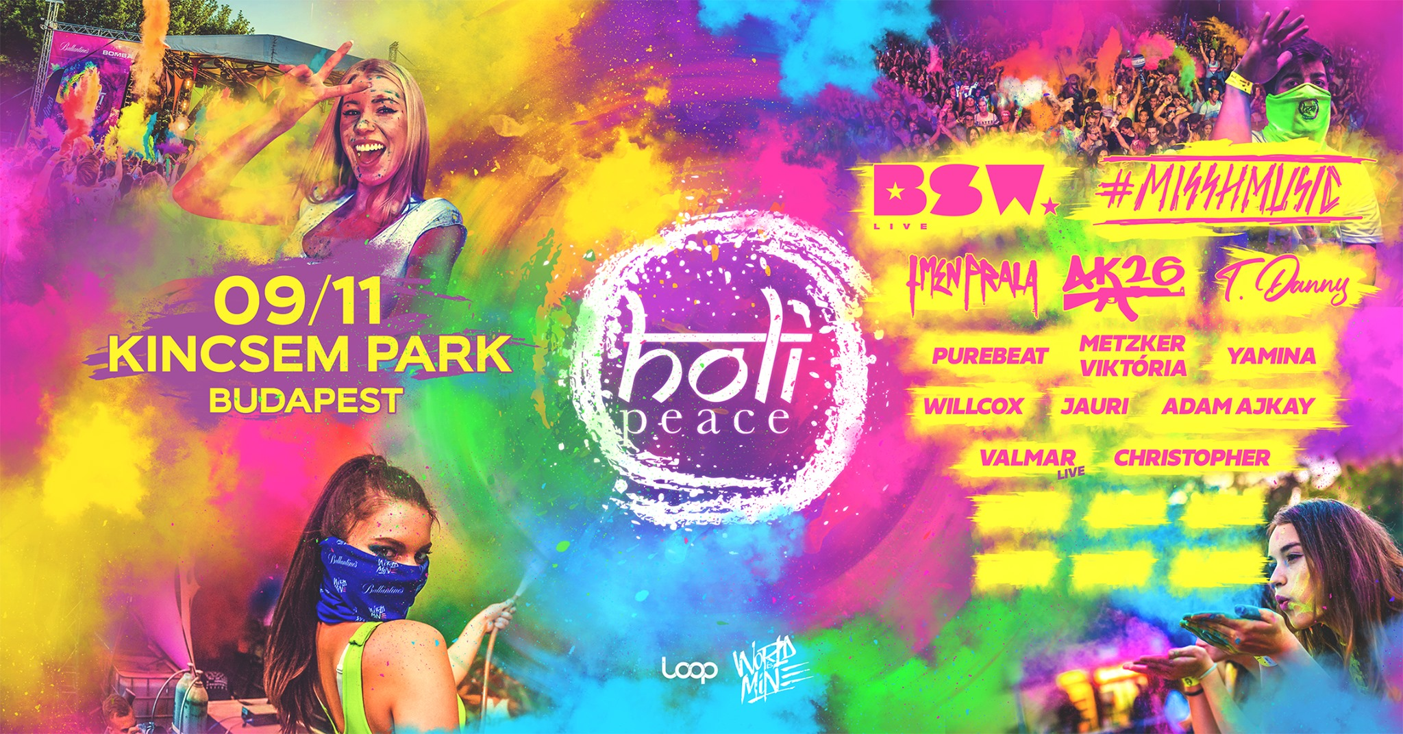 Holi Peace Budapest 2020: Biggest Color Festival