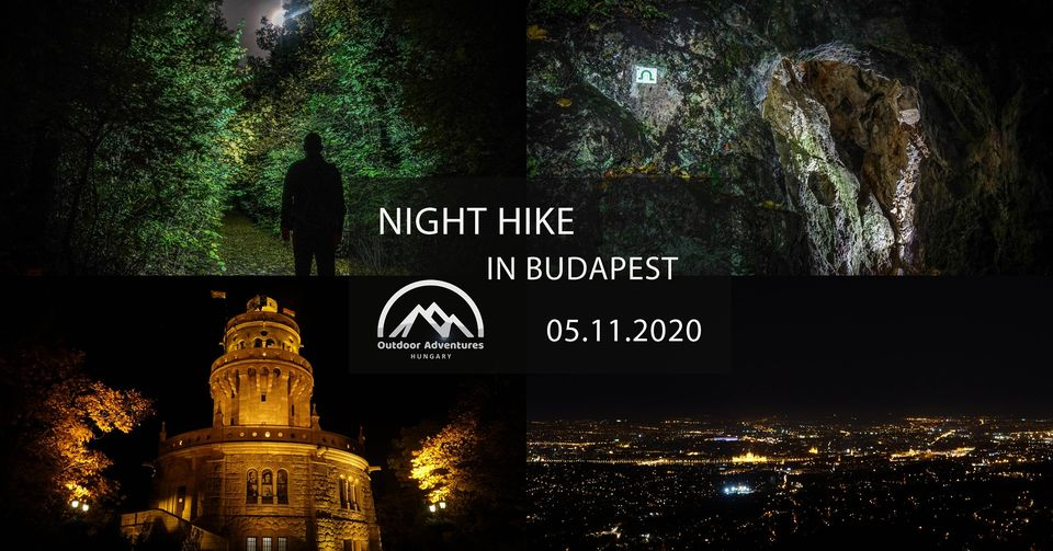 Night Hike in Budapest