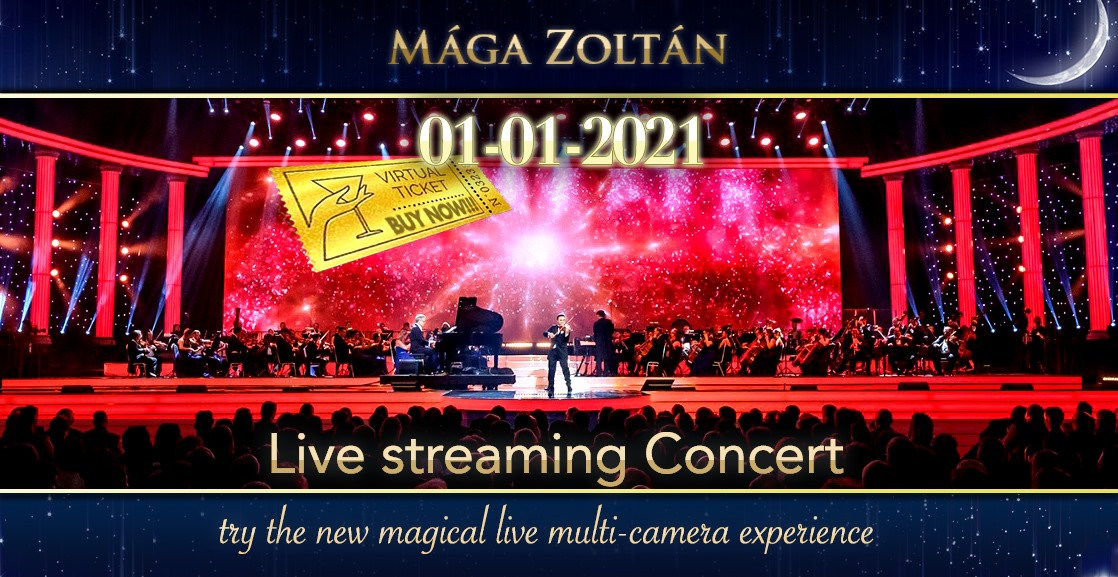 Zoltán Mága & Virtuoso Gypsy Orchestra's Traditional New Year's Concert – Live Streaming