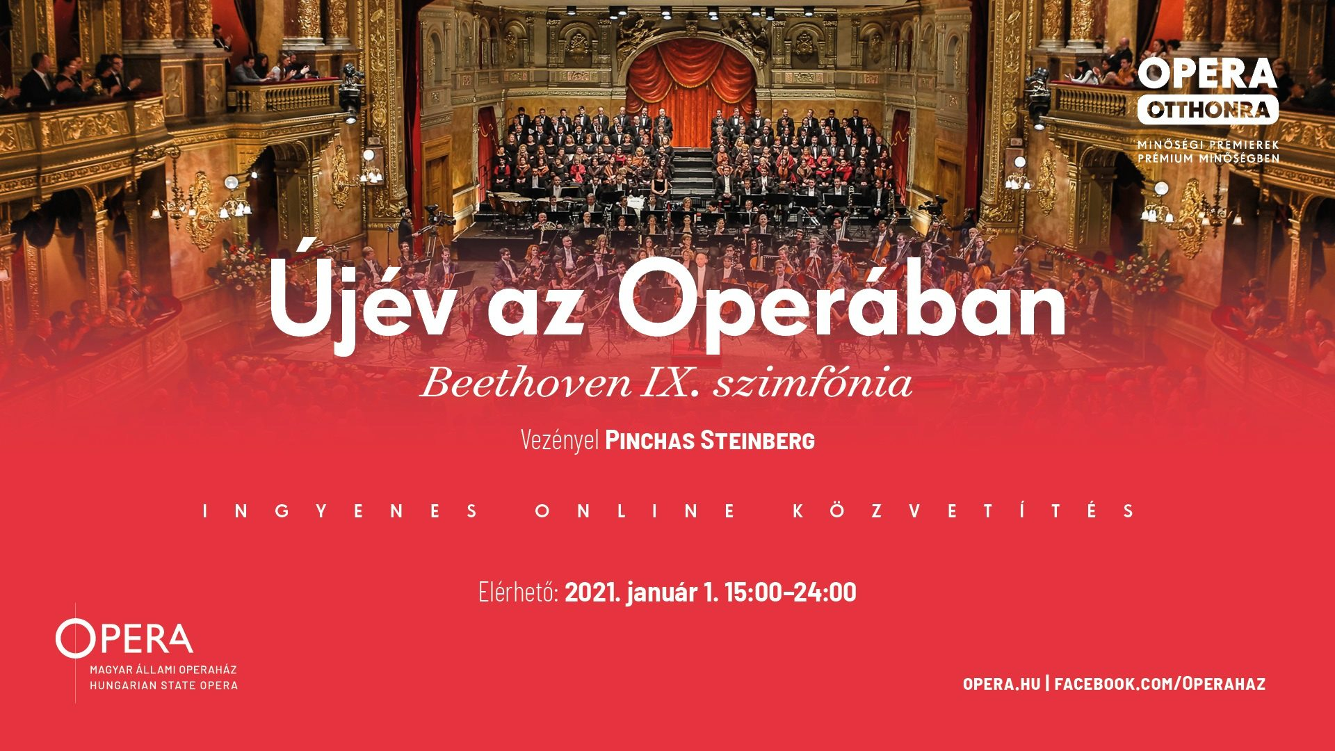 New Year's Concert Live Streaming From Opera