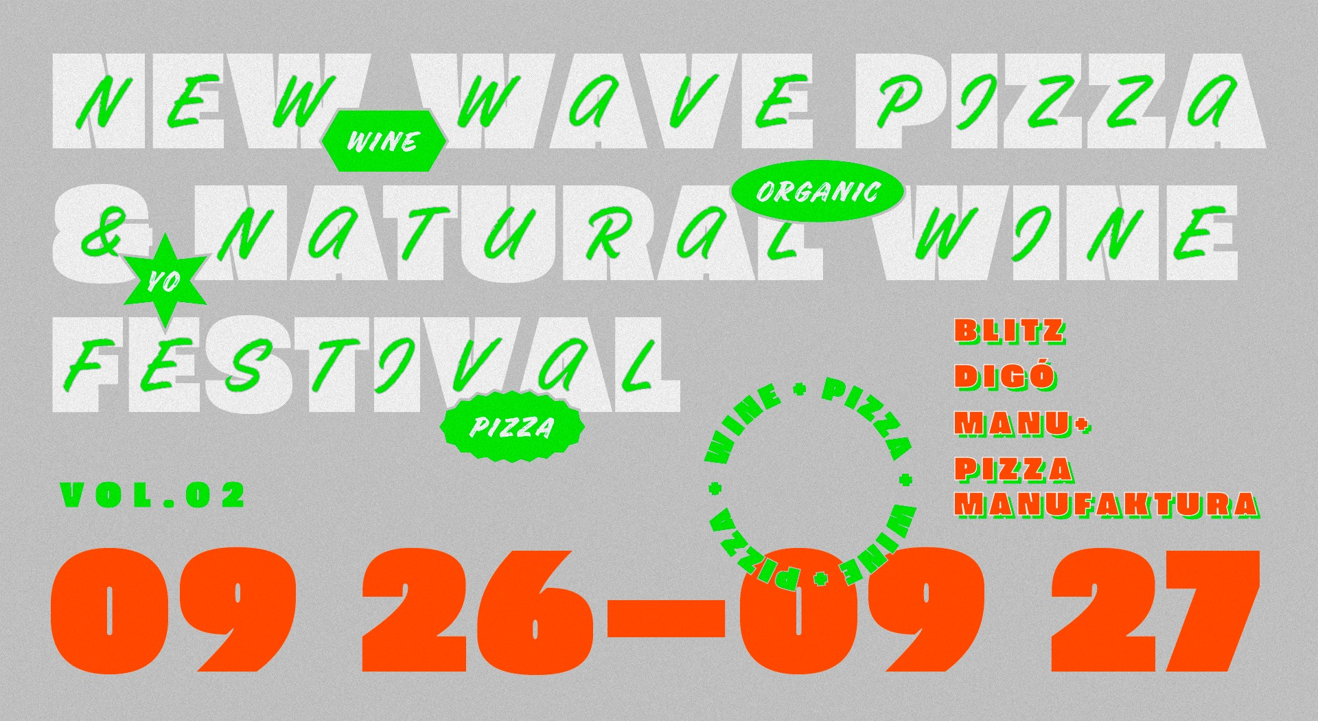 New Wave Pizza & Natural Wine Festival In Budapest, 26 – 27 September