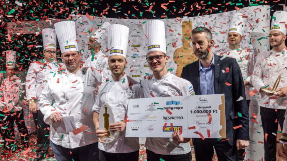 Hungarian Bocuse D'Or Team Qualifies For World Final