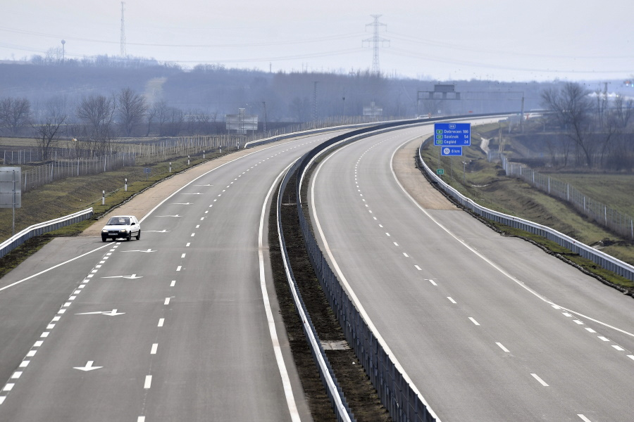 30-Kilometer Dual Carriageway Inaugurated In Central Hungary