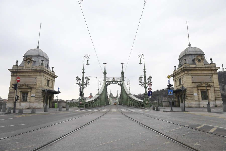 Video: Budapest Becomes 'Ghost Town' Due To Coronavirus