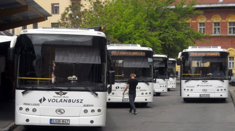 Hungarian Inter-City Coach Company Cancels Services Parallel To Rail