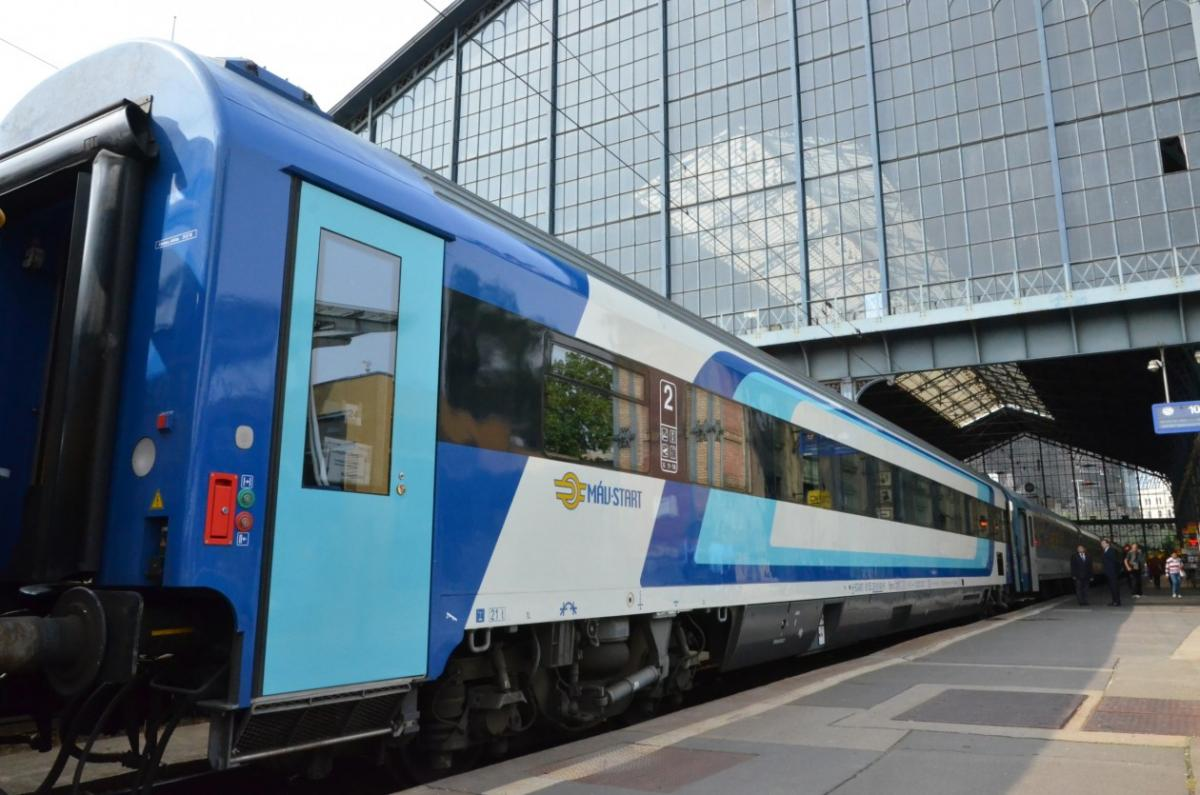 Hungarian Railways Starts Selling International Train Tickets Online