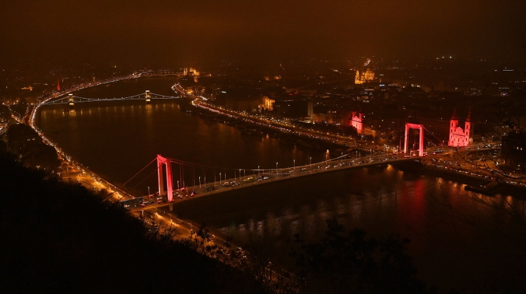 Why Were Key Budapest Landmarks Recently Lit Up In Red?