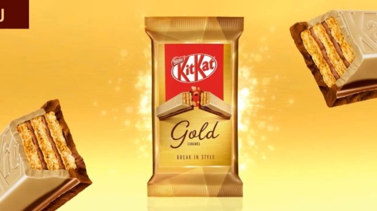 KitKat Gold To Debut In Hungary