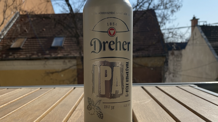 New Dreher IPA Beer Hits Hungarian Market
