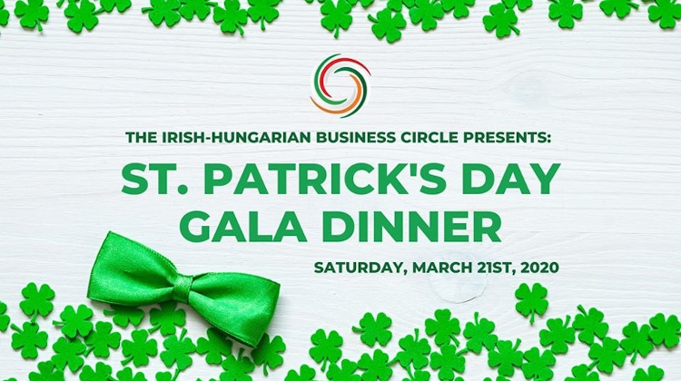Annual St. Patrick's Day Gala Dinner In Budapest, 21 March