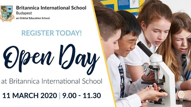 Open Day @ Britannica International School, Budapest, 11 March