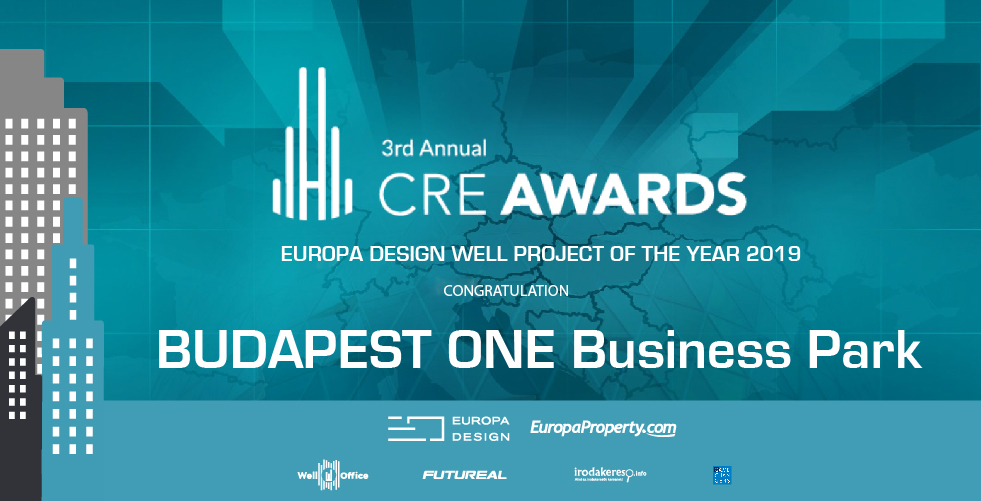 Europa Design Created 'Well Project Of The Year' Award In Hungary