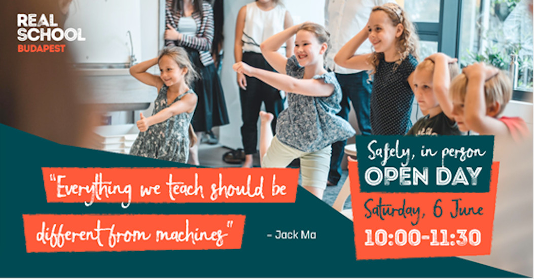 Real School Budapest Open Day - Join Them Safely In Person On 6 June
