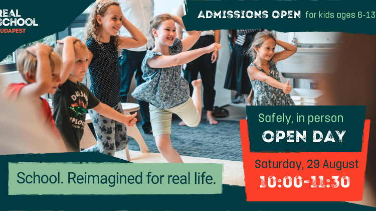 Real School Budapest Announces New Principal & Open Day