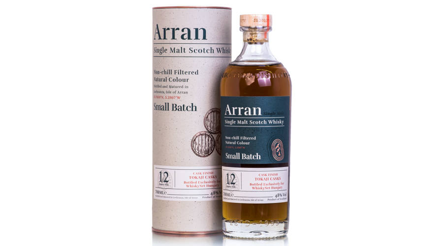 WhiskyNet Hungary: When Tokaji Aszú Meets Arran Scotch Whisky