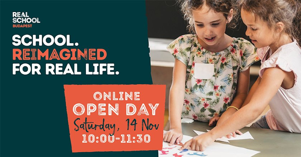 Open Day @ Real School Budapest, 14 November