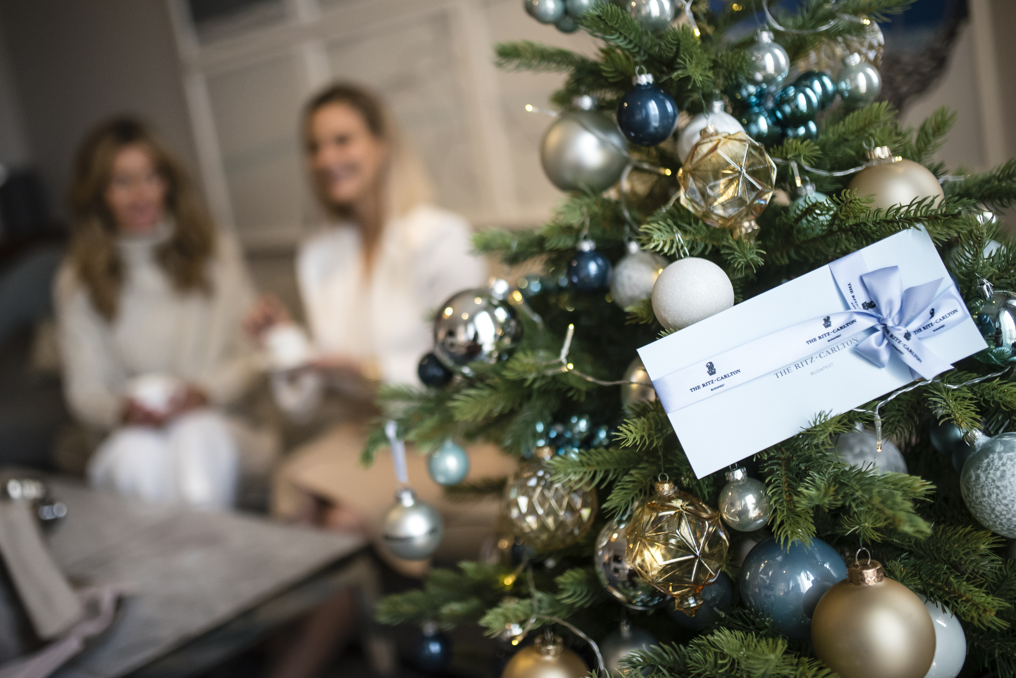 A Winter Fairy-Tale In The Ritz-Carlton, Budapest Christmas Suite