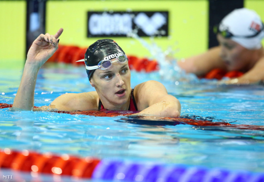 Hungarian Swimmer Hosszú Voted European Female Athlete Of The Year
