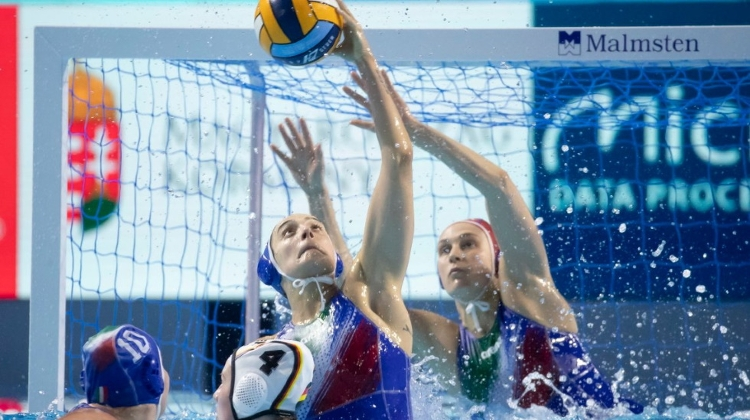 Video: European Water Polo Championships In Budapest On Until 26 January