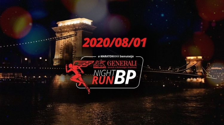 Annual Night Run In Budapest, 1 August