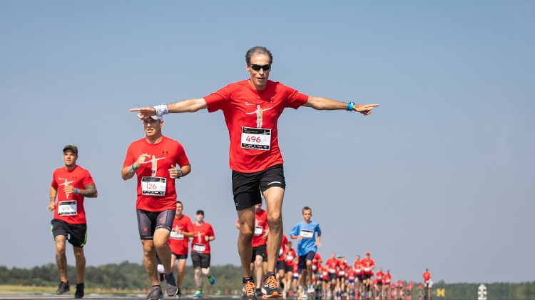 'Runway Run' Charity Race @ Budapest Airport, 19 September