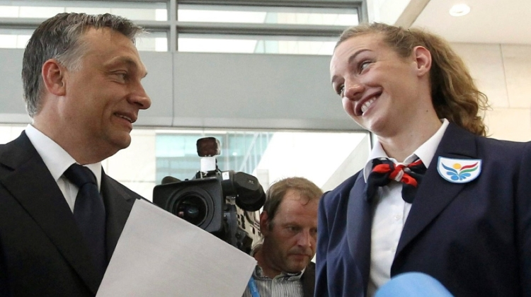 Why Did Swimmer Hosszú Visit PM Orbán?